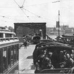 Warszawa, wjazd na most Kierbedzia, II wojna światowa