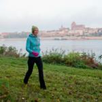 """""""Lekarze"""", dr Alicja, jogging nad Wisłą"""