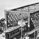 Warszawa, lata 20. XX wieku, wjazd na most Kierbedzia