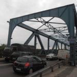 Toruń, wjazd na most Piłsudskiego od strony Starego Miasta