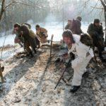 """""""Panoptikon"""", epizod """"1945"""", sceny batalistyczne, Barbarka pod Toruniem"""